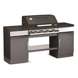 BeefEater 4 Burner Enamel Discovery 1100E Outdoor Kitchen - BD79542