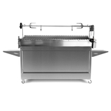 myGRILL Chef SMART Large with Stainless Steel Cart & Big Spit - Ultimate Package - PLUS