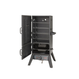 Hark 2 Door Gas Smoker - HK0522, Gas Smoker, Grill, Roast. American Style BBQ, Low and slow. Upright/Vertical Smoker