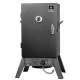 Hark Patio Gas Smoker - HK0528, Smoker, Grill, Roast. American Style BBQ, Low and slow. Vertical/Upright Smoker. Gas Smoker/Chips/Chunks