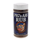 Pigs Ass Rub€ - Memphis Style 12.25oz Shaker Jar - Made in USA