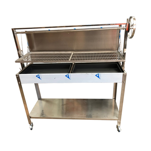 2018 Argentinian BBQ with Height Adjustable Grill