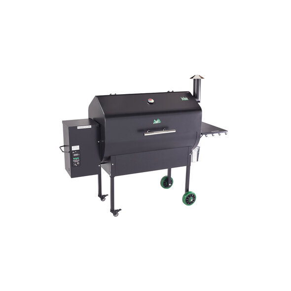Green Mountain Grill - Jim Bowie Green Mountain Grill WiFi Pellet Grill, Black Hood, Smoker, Grill, Roast, American Style BBQ